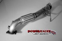 BCS Automotive 1. díl výfuku downpipe Ford Focus RS 2,5T - bez katalyzátoru