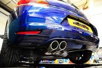 BCS Automotive Turbo Back Powervalve výfuk VW Scirocco 2,0 TSI - Sport De-Cat