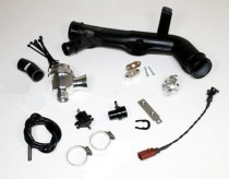 Velký Blow off ventil pro pro 2,0 TFSI TSI Škoda AUDI SEAT VW - černá