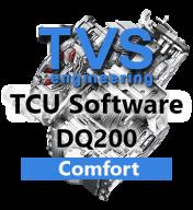 TVS Engineering Stage 1 Drivability software řídící jednotky 7°DSG převodovky DQ200
