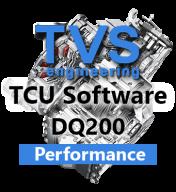 TVS Engineering Stage 2+ Performance & Drivability software řídící jednotky 7°DSG převodovky DQ200