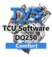 TVS Engineering Stage 1 Drivability software řídící jednotky 6°DSG převodovky DQ250