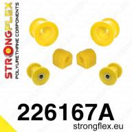 Set PUR SPORT silentbloků přední nápravy Strongflex Škoda Octavia II RS 1Z 2,0 TFSI TDI