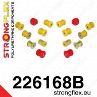 Set PUR silentbloků zadní nápravy Strongflex Škoda Octavia II RS 1Z 2,0 TFSI TDI