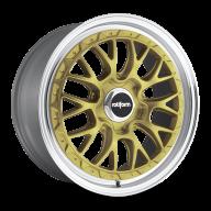 "Rotiform LSR 19x8,5"" 5x112 ET35 Alu kola - Zlaté"