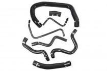 Forge Motorsport Sada silikonových hadic chladícího okruhu pro Audi S1 8X - černá
