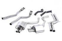 Turboback výfuk AUDI RS6 a RS7 C7 4.0 TFSI Milltek Sport - bez katalyzátoru / bez rezonátoru
