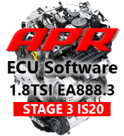 APR Stage 3 IS20 318+hp 447Nm chiptuning VW Polo GTI 6R SEAT Ibiza Cupra 1,8 TSI