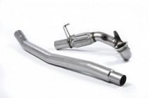 1. odlitý díl výfuku VW Golf 7 R 2.0 TSI GPF (facelift 2019->) Downpipe Milltek Sport - bez katalyzátoru