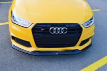 Maxton Design Nástavec předního nárazníku Audi S1 8X - texturovaný plast