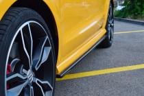 Maxton Design Prahové nástavce Audi S1 8X - texturovaný plast
