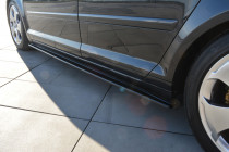 Maxton Design Prahové nástavce Audi A3 8P - texturovaný plast