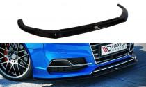 Maxton Design Spoiler předního nárazníku Audi A3 S-Line/S3 8V Sedan - texturovaný plast