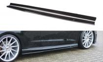 Maxton Design Prahové lišty Audi A3 S-Line/S3 8V Hatchback  - texturovaný plast