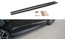 Maxton Design Prahové lišty Audi A3 S-Line/S3 8V Sedan - texturovaný plast
