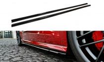 Maxton Design Prahové lišty Audi A3 S-Line/S3 8V Sportback - texturovaný plast