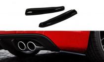 Maxton Design Boční lišty zadního nárazníku Audi A3 S-Line/S3 8V Sportback/Hatchback - texturovaný plast