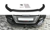 Maxton Design Spoiler předního nárazníku Audi A3 S-Line/S3 8V Facelift V.2 - texturovaný plast