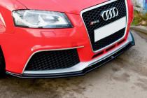 Maxton Design Spoiler předního nárazníku Audi RS3 8P - texturovaný plast