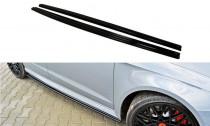 Maxton Design Prahové lišty Audi RS3 8V Sportback - texturovaný plast