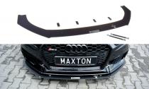 Maxton Design Spoiler předního nárazníku Racing Audi RS3 8V Sportback Facelift V.1
