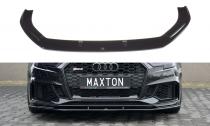 Maxton Design Spoiler předního nárazníku Audi RS3 8V Sportback Facelift V.1 - texturovaný plast