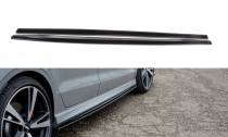 Maxton Design Prahové lišty Audi RS3 8V Sedan Facelift - texturovaný plast