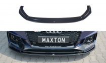 Maxton Design Spoiler předního nárazníku Audi RS4 B9 V.2 - texturovaný plast