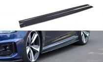 Maxton Design Prahové lišty Audi RS4 B9 - texturovaný plast