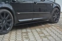 Maxton Design Prahové lišty Audi A4/S4/A4 S-Line B6/B7 Avant - texturovaný plast