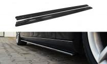 Maxton Design Prahové lišty Audi A4/S4/A4 S-Line B8 Facelift - texturovaný plast