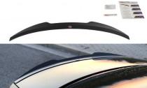 Maxton Design Spoiler víka kufru Audi S4 B8 Sedan Facelift - texturovaný plast