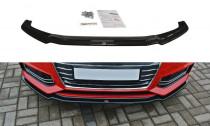 Maxton Design Spoiler předního nárazníku Audi S4/A4 S-Line B9 V.1 - texturovaný plast