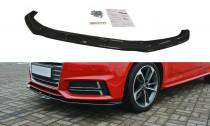 Maxton Design Spoiler předního nárazníku Audi S4/A4 S-Line B9 V.2 - texturovaný plast