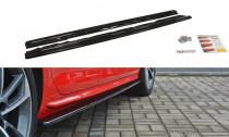Maxton Design Prahové lišty Audi S4/A4 S-Line B9 - texturovaný plast
