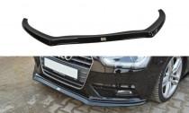 Maxton Design Spoiler předního nárazníku Audi A4 B8 Facelift V.2 - texturovaný plast