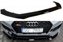 Maxton Design Spoiler předního nárazníku Racing Audi RS5 B9 Coupe/Sportback V.1
