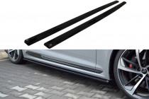 Maxton Design Prahové lišty Audi RS5 B9 Coupe - texturovaný plast