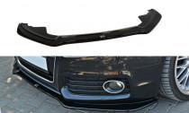 Maxton Design Spoiler předního nárazníku Audi S5/A5 S-Line B8 Coupe/Sportback - texturovaný plast
