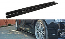 Maxton Design Prahové lišty Audi S5/A5 S-Line/Facelift B8 Coupe - texturovaný plast