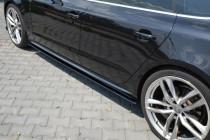 Maxton Design Prahové lišty Audi S5/A5 S-Line/Facelift B8 Sportback - texturovaný plast