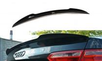 Maxton Design Spoiler víka kufru Audi S5/A5 S-Line/Facelift B8 Coupe - texturovaný plast