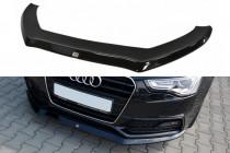 Maxton Design Spoiler předního nárazníku Audi S5/A5 S-Line B8 Coupe/Sportback Facelift V.1 - texturovaný plast