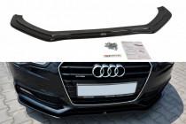 Maxton Design Spoiler předního nárazníku Audi S5/A5 S-Line B8 Coupe/Sportback Facelift V.2 - texturovaný plast
