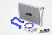Do88 Chladič chladící kapaliny Radiator BMW M3 E46 3,2 R6 - Modré