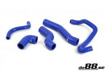 Do88 Set silikonových hadic vedení chladící kapaliny BMW 3 E46 316i 318i N42B18 N46B18 N42B20 N46B20 - Modrá