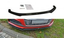 Maxton Design Spoiler předního nárazníku Audi S5/A5 S-Line B9 Coupe/Sportback V.1 - texturovaný plast