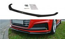 Maxton Design Spoiler předního nárazníku Audi S5/A5 S-Line B9 Coupe/Sportback V.2 - texturovaný plast