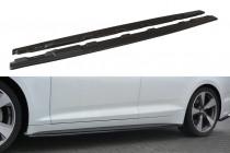 Maxton Design Prahové lišty Audi S5/A5 S-Line B9 Sportback - texturovaný plast