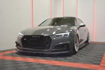 Maxton Design Spoiler předního nárazníku Audi S5/A5 S-Line B9 Coupe/Sportback V.3